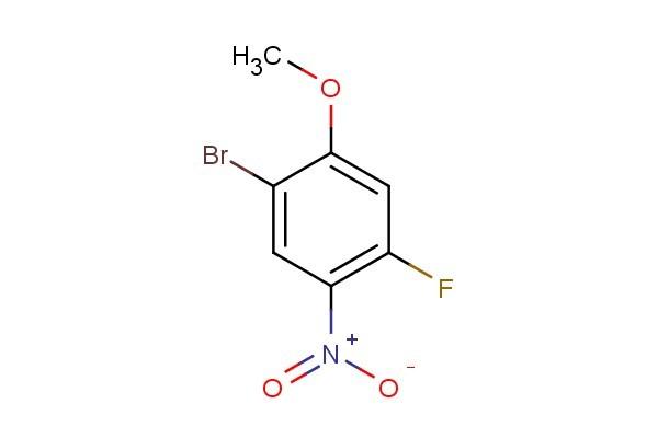 1-bromo-4-fluoro-2-methoxy-5-nitrobenzene
