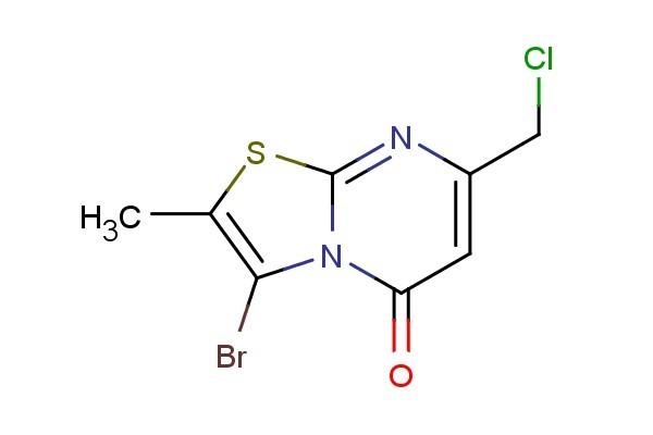 3-bromo-7-(chloromethyl)-2-methyl-5H-thiazolo[3,2-a]pyrimidin-5-one