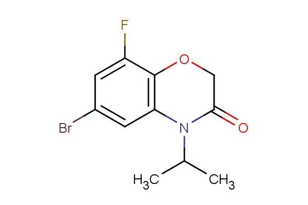6-bromo-8-fluoro-4-isopropyl-2H-benzo[b][1,4]oxazin-3(4H)-one