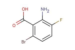 2-amino-6-bromo-3-fluorobenzoic acid