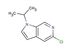 5-chloro-1-isopropyl-1H-pyrrolo[2,3-c]pyridine
