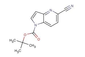 tert-butyl 5-cyano-1H-pyrrolo[3,2-b]pyridine-1-carboxylate