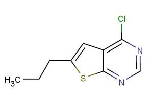 4-chloro-6-propylthieno[2,3-d]pyrimidine
