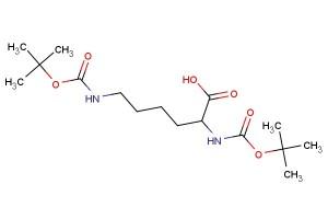 2,6-bis(tert-butoxycarbonylamino)hexanoic acid