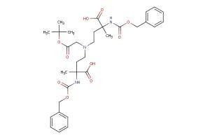 4,4'-((2-(tert-butoxy)-2-oxoethyl)azanediyl)bis(2-(((benzyloxy)carbonyl)amino)-2-methylbutanoic acid)