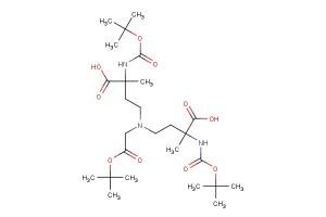 4,4'-((2-(tert-butoxy)-2-oxoethyl)azanediyl)bis(2-((tert-butoxycarbonyl)amino)-2-methylbutanoic acid)