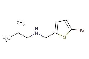 N-((5-bromothiophen-2-yl)methyl)-2-methylpropan-1-amine