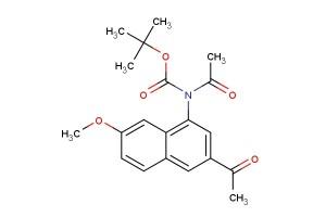 tert-butyl acetyl(3-acetyl-7-methoxynaphthalen-1-yl)carbamate