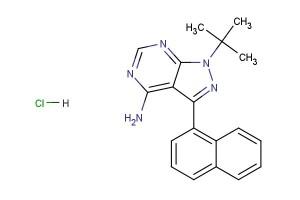 1-NA-PP1; 1-Naphthyl PP1 hydrochloride