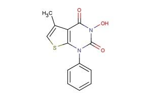 3-hydroxy-5-methyl-1-phenylthieno[2,3-d]pyrimidine-2,4(1H,3H)-dione