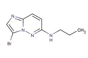 3-bromo-N-propylimidazo[1,2-b]pyridazin-6-amine