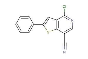 4-chloro-2-phenylthieno[3,2-c]pyridine-7-carbonitrile