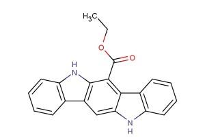 ethyl 5,11-dihydroindolo[3,2-b]carbazole-6-carboxylate