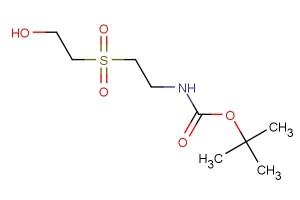 tert-butyl 2-(2-hydroxyethylsulfonyl)ethylcarbamate