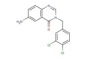 6-amino-3-(3,4-dichlorobenzyl)quinazolin-4(3H)-one
