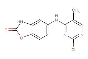 5-(2-chloro-5-methylpyrimidin-4-ylamino)benzo[d]oxazol-2(3H)-one