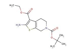 6-tert-butyl 3-ethyl 2-amino-4,5-dihydrothieno[2,3-c]pyridine-3,6(7H)-dicarboxylate