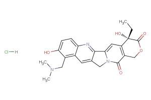 Topotecan Hydrochloride (SK&F 104864-A; SKF 104864A; SKFS 104864A; NSC 609669; Nogitecan Hydrochloride)