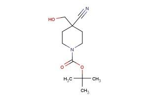 tert-butyl 4-cyano-4-(hydroxymethyl)piperidine-1-carboxylate