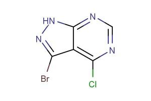 3-bromo-4-chloro-1H-pyrazolo[3,4-d]pyrimidine