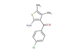 (2-amino-4,5-dimethylthiophen-3-yl)(4-chlorophenyl)methanone