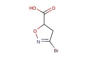 3-bromo-4,5-dihydroisoxazole-5-carboxylic acid
