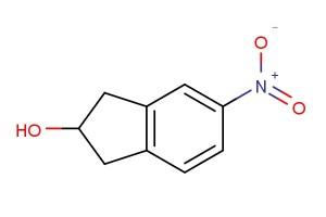 5-nitro-2,3-dihydro-1H-inden-2-ol