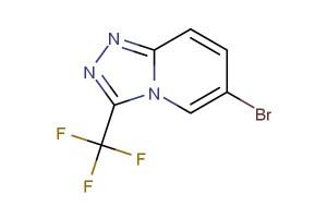 6-bromo-3-(trifluoromethyl)-[1,2,4]triazolo[4,3-a]pyridine