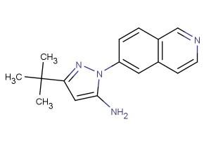 3-(tert-butyl)-1-(isoquinolin-6-yl)-1H-pyrazol-5-amine