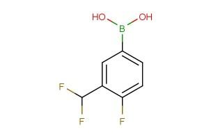 (3-(difluoromethyl)-4-fluorophenyl)boronic acid