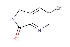 3-bromo-5H-pyrrolo[3,4-b]pyridin-7(6H)-one