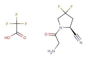 (S)-1-(2-aminoacetyl)-4,4-difluoropyrrolidine-2-carbonitrile 2,2,2-trifluoroacetate
