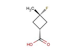 cis 3-fluoro-3-methylcyclobutanecarboxylic acid