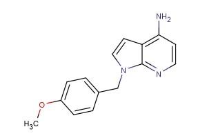 1-(4-methoxybenzyl)-1H-pyrrolo[2,3-b]pyridin-4-amine