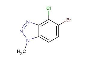 5-bromo-4-chloro-1-methyl-1H-benzo[d][1,2,3]triazole