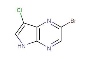 2-bromo-7-chloro-5H-pyrrolo[2,3-b]pyrazine