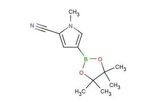 1-methyl-4-(4,4,5,5-tetramethyl-1,3,2-dioxaborolan-2-yl)-1H-pyrrole-2-carbonitrile