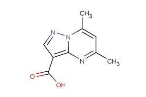 5,7-dimethylpyrazolo[1,5-a]pyrimidine-3-carboxylic acid