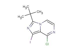 3-(tert-butyl)-8-chloro-1-iodoimidazo[1,5-a]pyrazine