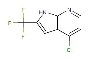 4-chloro-2-(trifluoromethyl)-1H-pyrrolo[2,3-b]pyridine