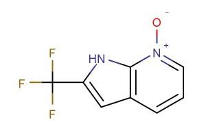 2-(trifluoromethyl)-1H-pyrrolo[2,3-b]pyridine 7-oxide