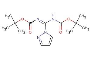 tert-butyl (((tert-butoxycarbonyl)imino)(1H-pyrazol-1-yl)methyl)carbamate