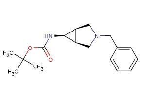 tert-butyl ((1R,5S,6s)-3-benzyl-3-azabicyclo[3.1.0]hexan-6-yl)carbamate
