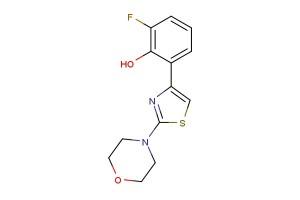 2-fluoro-6-(2-morpholinothiazol-4-yl)phenol