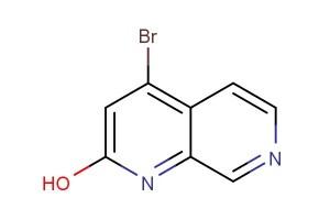 4-bromo-1,7-naphthyridin-2-ol