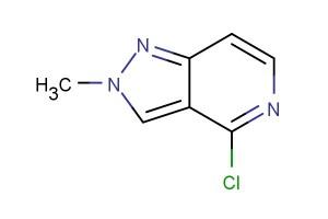4-chloro-2-methyl-2H-pyrazolo[4,3-c]pyridine