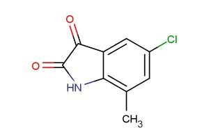 5-chloro-7-methylindoline-2,3-dione