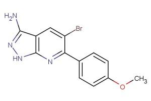 5-bromo-6-(4-methoxyphenyl)-1H-pyrazolo[3,4-b]pyridin-3-amine