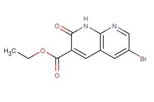 ethyl 6-bromo-2-oxo-1,2-dihydro-1,8-naphthyridine-3-carboxylate