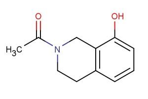 1-(8-hydroxy-3,4-dihydroisoquinolin-2(1H)-yl)ethanone